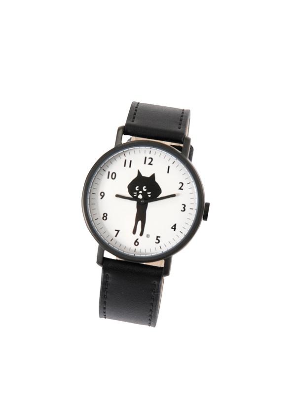 にゃー / GF にゃーのれざーうぉっち / 時計 黒【ジュエリー・腕時計 レディース腕時計】【ネ・ネット にゃー】/NY61AW68326-