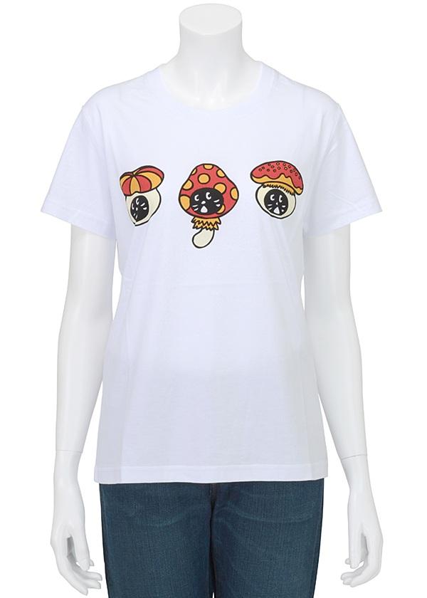 にゃー / ☆ GF どくきのこにゃー T / Tシャツ 白