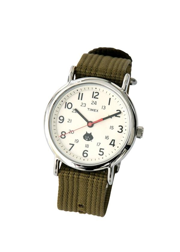 にゃー / にゃー×TIMEX / 腕時計 カーキ【ジュエリー・腕時計 レディース腕時計】【ネ・ネット にゃー】/NY73AW06909-