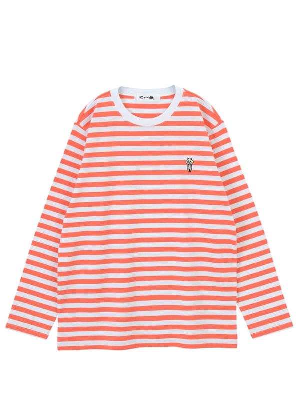 にゃー / メンズ ハロウィンにゃーT / Tシャツ オレンジ / レンガ【ファッション・アパレル メンズトップス】【ネ・ネット にゃー】/NY73JJ7932003