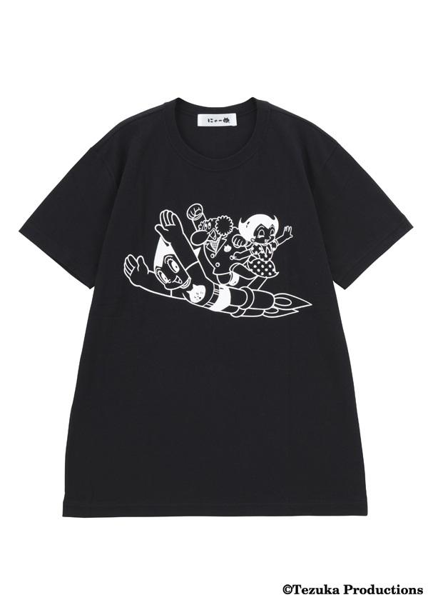 にゃー / メンズ にゃールックアトムとなかま T / Tシャツ