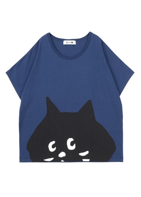 SUSOからにゃーT / Tシャツ ネイビー