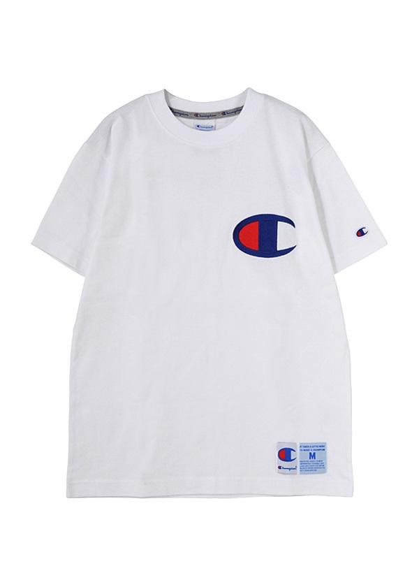 にゃーとチャンピオンのビッグロゴT / Tシャツ 白