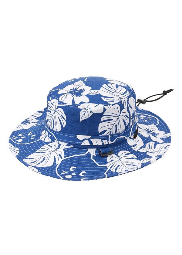 【SALE】にゃー / S にゃーアロハハット / 帽子 ブルー