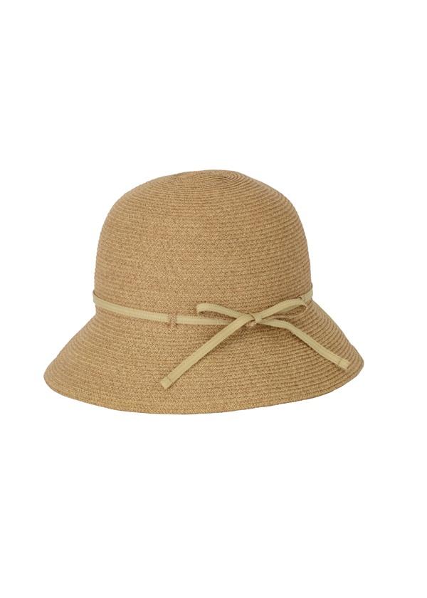 Plantation / トラベルクロッシェ / 帽子 ベージュ