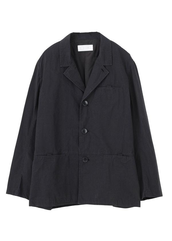 GF cotton nylon easy jacket 黒