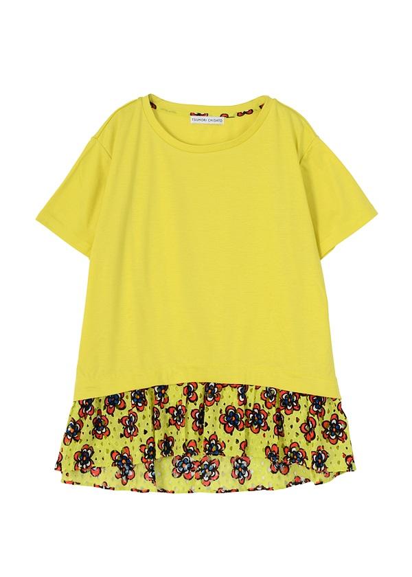 TSUMORI CHISATO / フラワードッキングT / Tシャツ