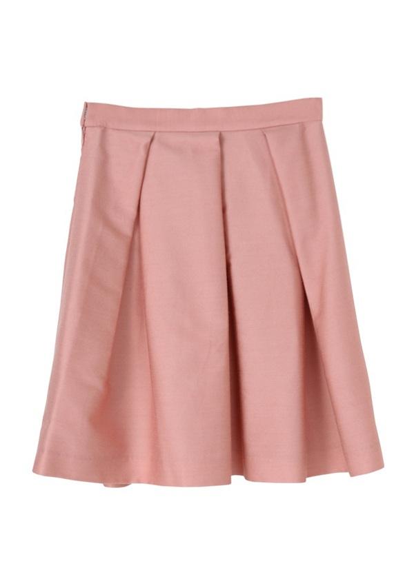 TSUMORI CHISATO / GF カラーツイル / スカート ライトピンク