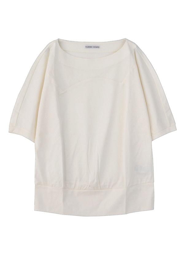 TSUMORI CHISATO / クリアスムース / Tシャツ オフ白