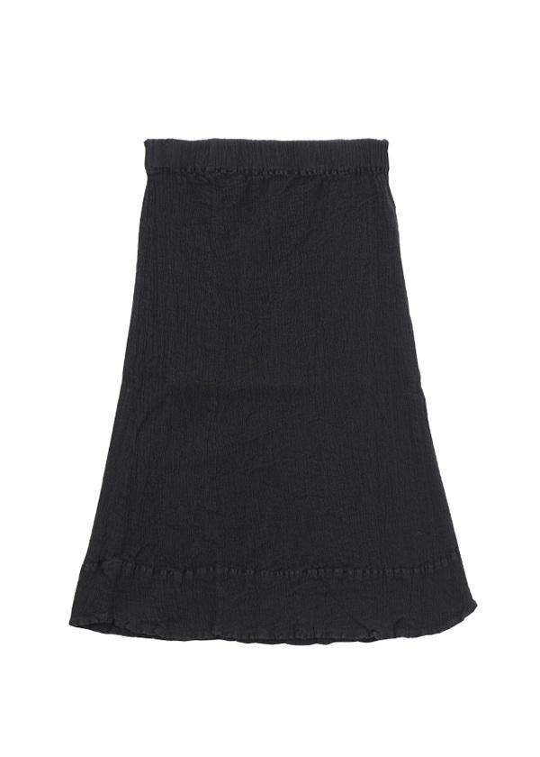 【SALE】TSUMORI CHISATO / S クレプリマルチボーダー / スカート 黒