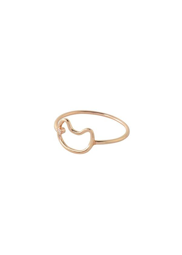 ネコループアクセサリー / 指輪 ゴールド