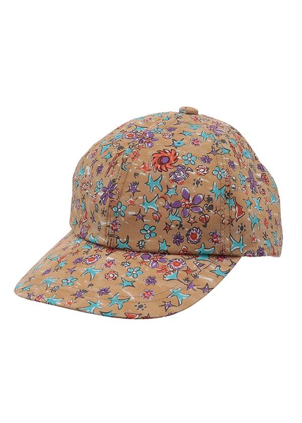 TSUMORI CHISATO / ガラキャップ / 帽子 キャメル