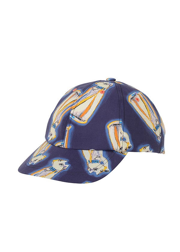 TSUMORI CHISATO / ガラキャップ / 帽子 ネイビー