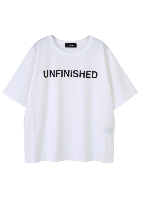 UNFINISHED Tシャツ 白