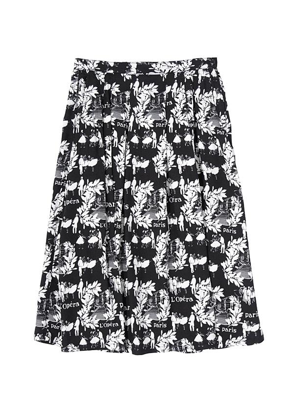 ZUCCa / Dominique Picquier / スカート 黒