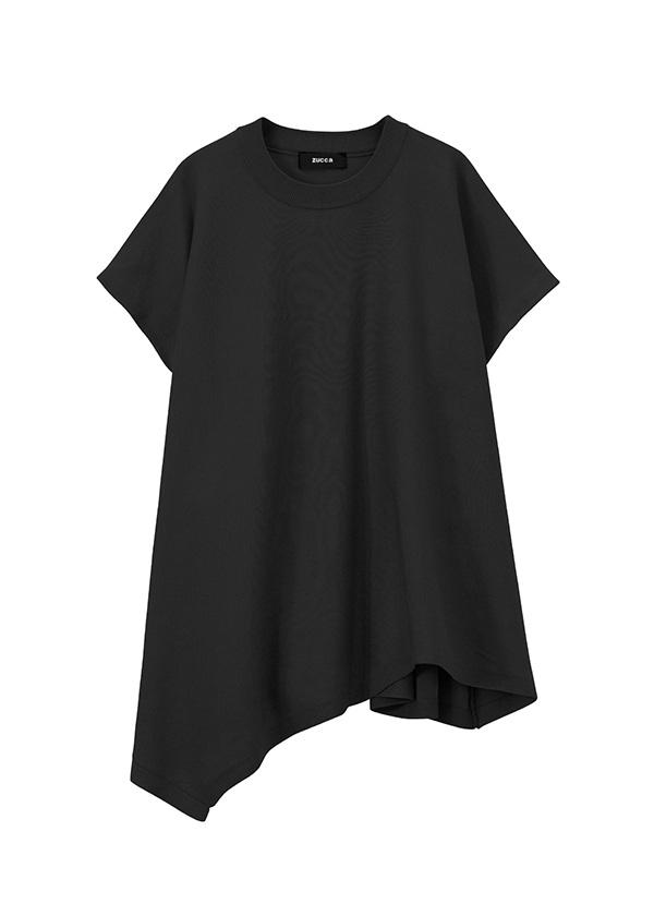 コットンストレッチセーター 黒