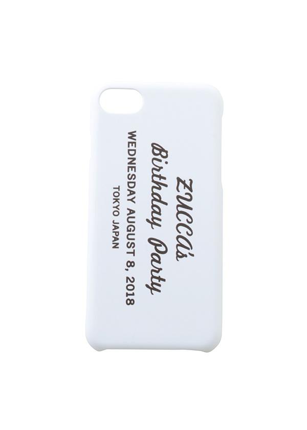 ZUCCa / INVITATION iPhoneケース / iPhoneケース 白