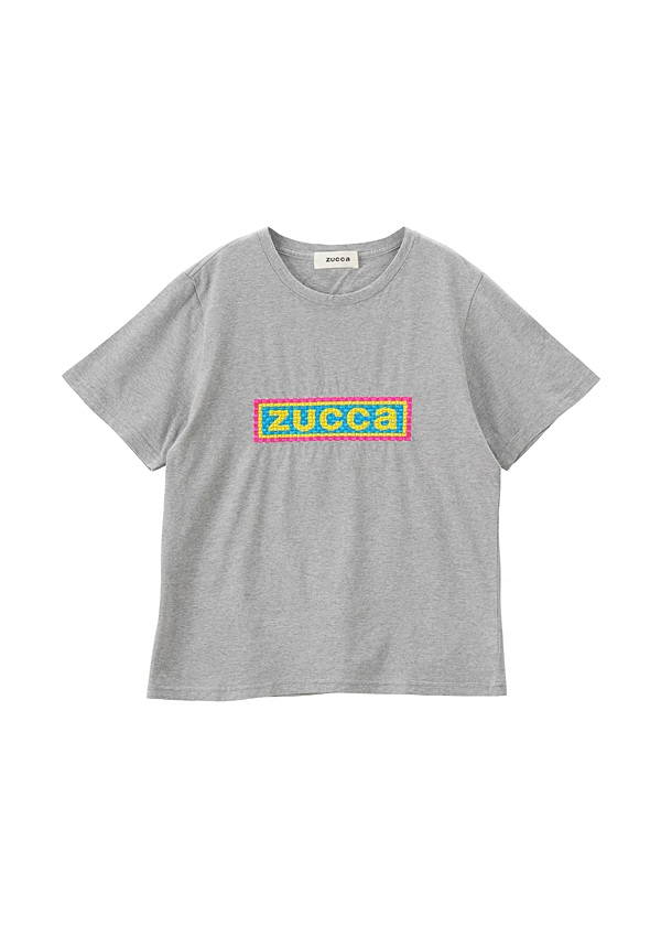 ZUCCa / 【限定】 エンブロイダリーロゴTシャツ / Tシャツ
