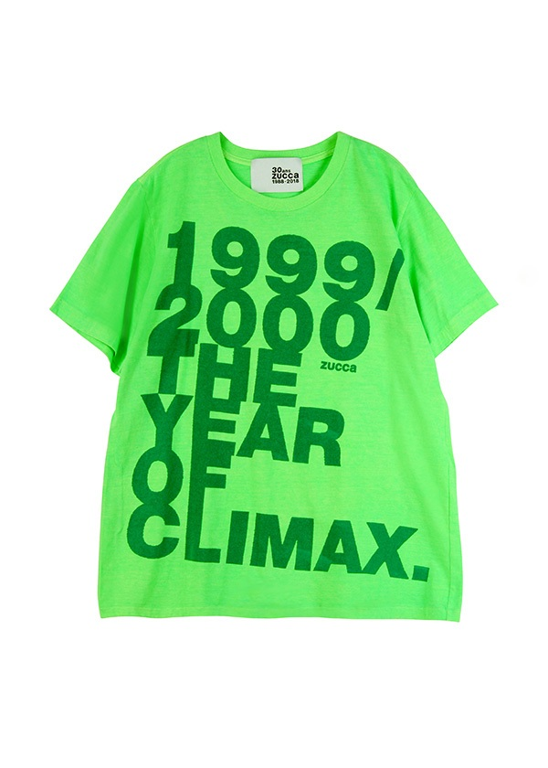 THE YEAR OF CLIMAX / Tシャツ ライトグリーン