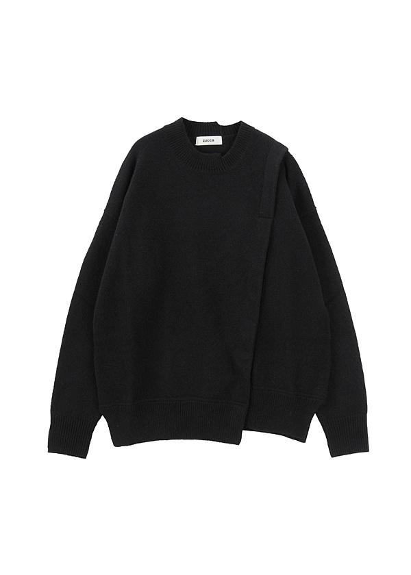 ラムウールセーター / セーター 黒