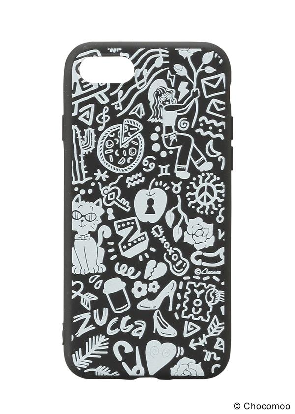 ZUCCa / Chocomoo×ZUCCa ACC iphone ケース 黒