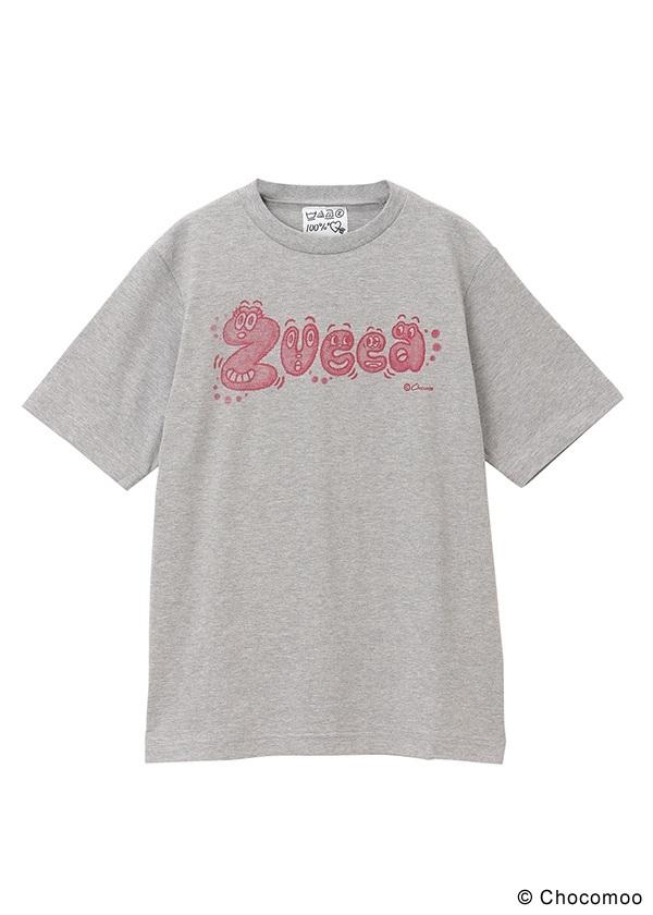 ZUCCa / GF Chocomoo×ZUCCaロゴT / Tシャツ