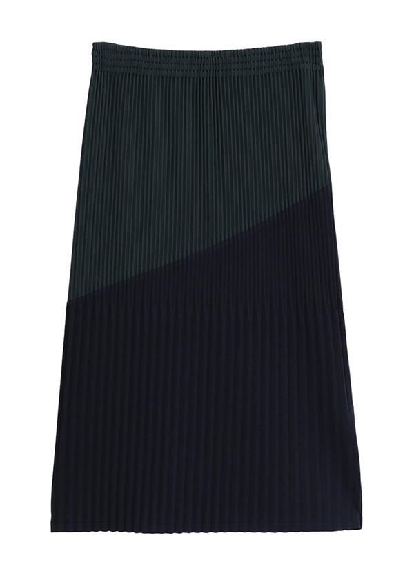 ZUCCa / PEスムース / スカート ネイビー