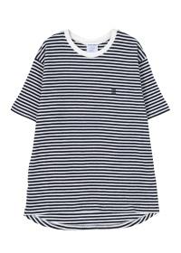 ZUCCa / S メンズ (D)ボーダーワッフル / Tシャツ