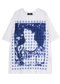 ZUCCa / S メンズ PORTRAIT Tシャツ / Tシャツ