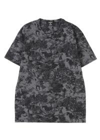 ZUCCa / メンズ ウォールペーパージャージィー / Tシャツ
