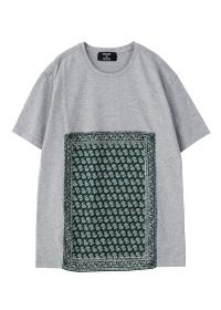 ZUCCa / メンズ バンダナ Tシャツ / Tシャツ