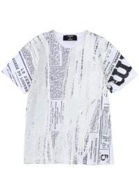 ZUCCa / メンズ fill Tシャツ / Tシャツ