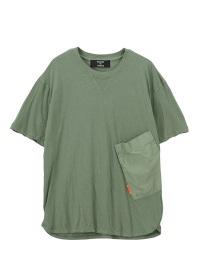 ZUCCa / メンズ コットンリネンジャージィー / Tシャツ