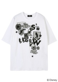 ZUCCa / メンズ MICKEY CREST T / Tシャツ