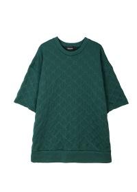 ZUCCa / メンズ サークルジャガード / Tシャツ