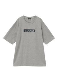 ZUCCa / メンズ ステッカーロゴTシャツ / Tシャツ