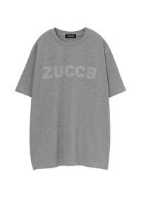 <先行予約> ZUCCa / メンズ スタッズロゴTシャツ / Tシャツ