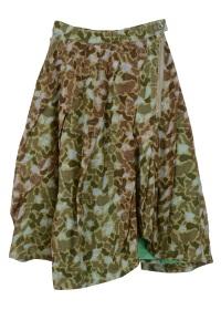 メルシーボークー、 / (O) 麻メッシュ / スカート