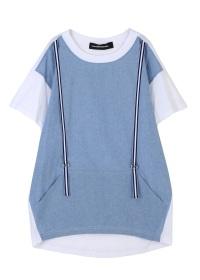 メルシーボークー、 / S B:あわせシャンブレー / Tシャツ