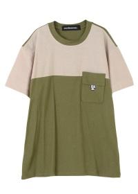 メルシーボークー、 / メンズ B:あわせシャンブレー / Tシャツ