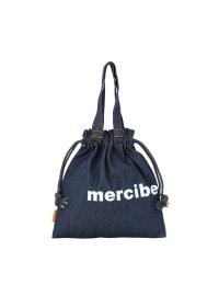 メルシーボークー、/ デニムきんちゃく / きんちゃくバッグ