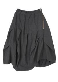 メルシーボークー、 / B:ストレッチツイル / スカート