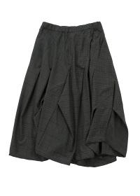 メルシーボークー、 / B:おちつきチェック / スカート