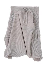 メルシーボークー、 / ちらちらニット / スカート