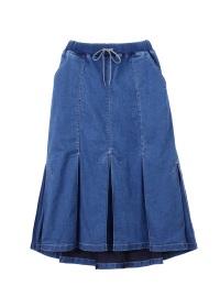 メルシーボークー、 / B:テンこみデニム / デニムスカート