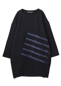 メルシーボークー、 / B:メルロゴ裏毛 / ワンピース