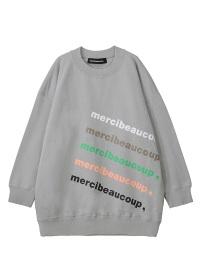 メルシーボークー、 / 【WEB限定】 B:メルロゴ裏毛 / トレーナー