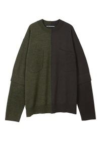 メルシーボークー、 / S 編みイロニット / セーター