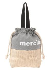 メルシーボークー、 / GF かご巾着 / バッグ