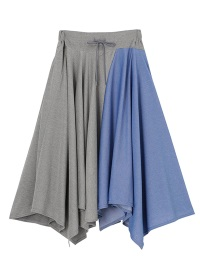 <先行予約> メルシーボークー、 / もったいないサーキュラー / スカート